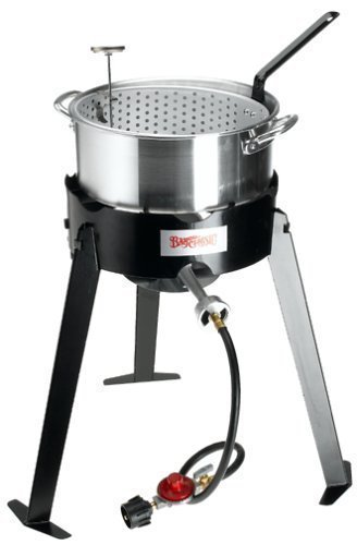 Bayou Classic Outdoor Aluminum Fryer Cooker #2212